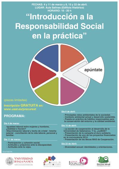 Cartel curso responsabilidad social 15-16