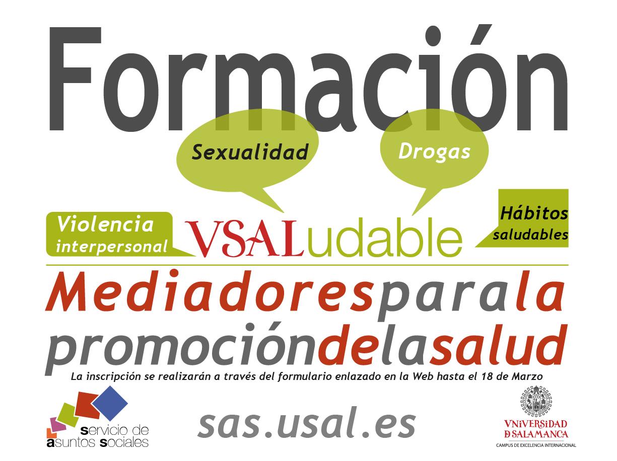 cartel curso mediadores de salud 2016