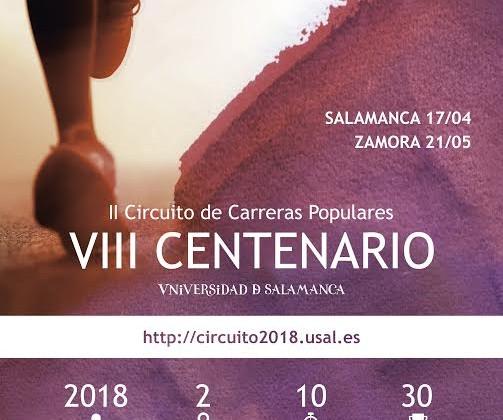 Cartel carreras VIII Centenario