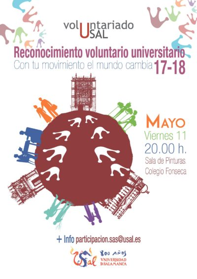 cartel voluntariado universitario